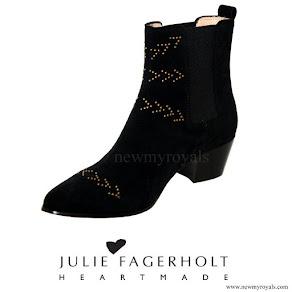 Crown Princess Mary wore Julie Fagerholt HEARTMADE Chelsea Boot