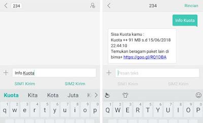 Cara Cek Kuota Tri Melalui SMS