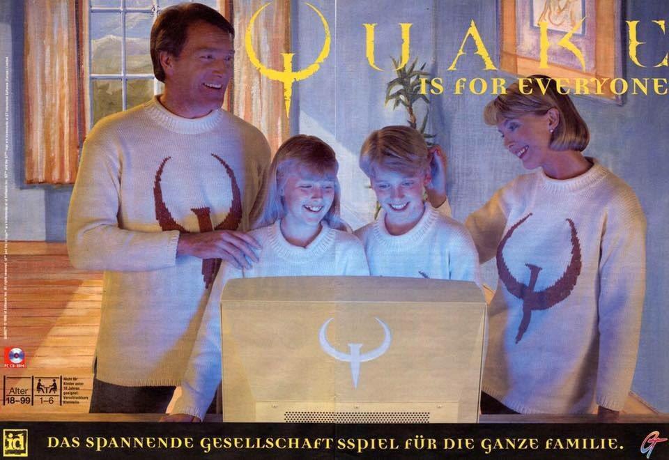 Quake é para todo mundo