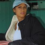Andrea Rincon, Selena Spice Galeria 33: Gorra Azul, Cachetero Azul Foto 4