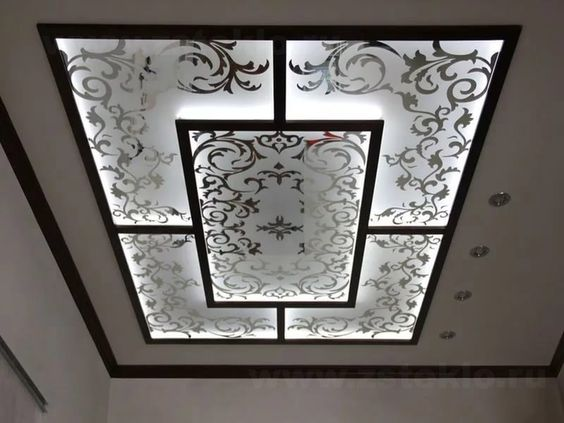 10 Simple False Ceiling Design For Living Room In 2020
