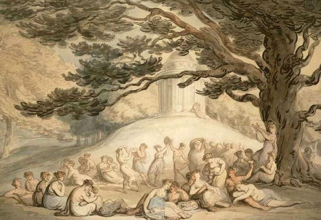le temple de Bacchus.