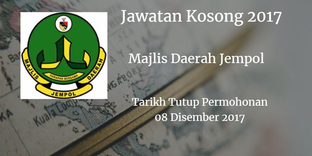 Jawatan Kosong MDJL 08 Disember 2017