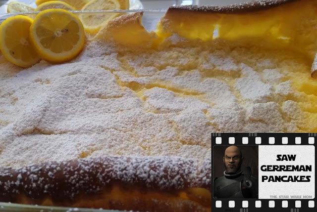 Star Wars Rebels Saw Gerrera Recipe German Pancakes Dutch Baby