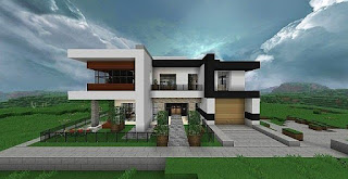 Minecraft-House-Designs-Contemporary