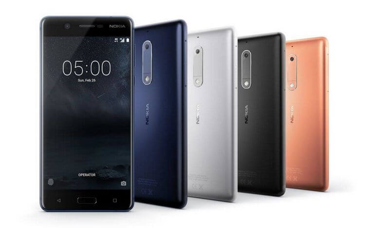 New Nokia smartphones available at the earliest mid-May