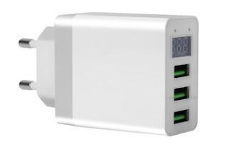 Alimentation 3 sorties USB 5V - 3A non génératrice de QRM Alim-usb-3a