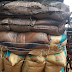 37 vehicles loaded with imported rice seized by customs an 3 suspects arrested..photo