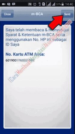 cara registrasi mobile banking di atm bca
