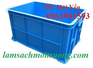 Thùng nhựa đặc, thùng nhựa đựng đồ cơ khí, hộp nhựa đựng ốc vít giá rẻ