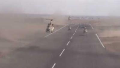 عاجل فيديو للجيش للحظة استهداف الإرهابيين
