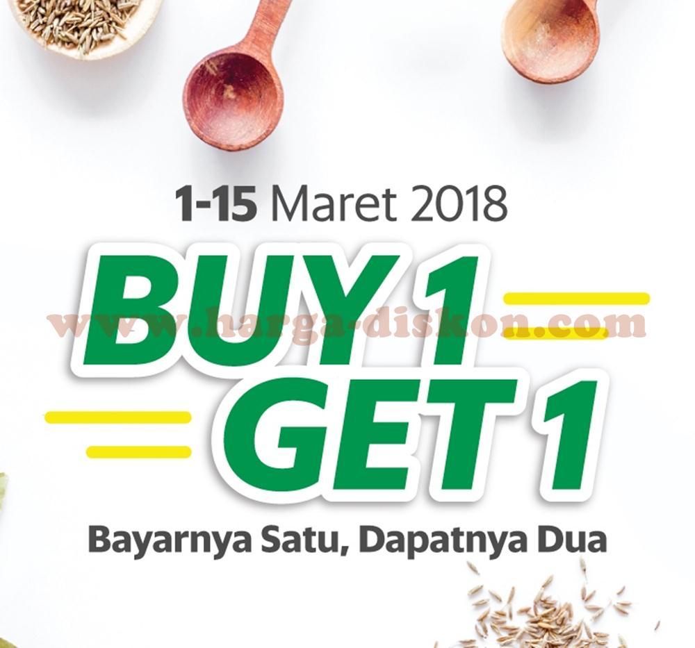 Promo Grabfood Buy 1 Get 1 Di Tenant Tenant Tertentu Periode 01 15 Maret 2018 Harga Diskon