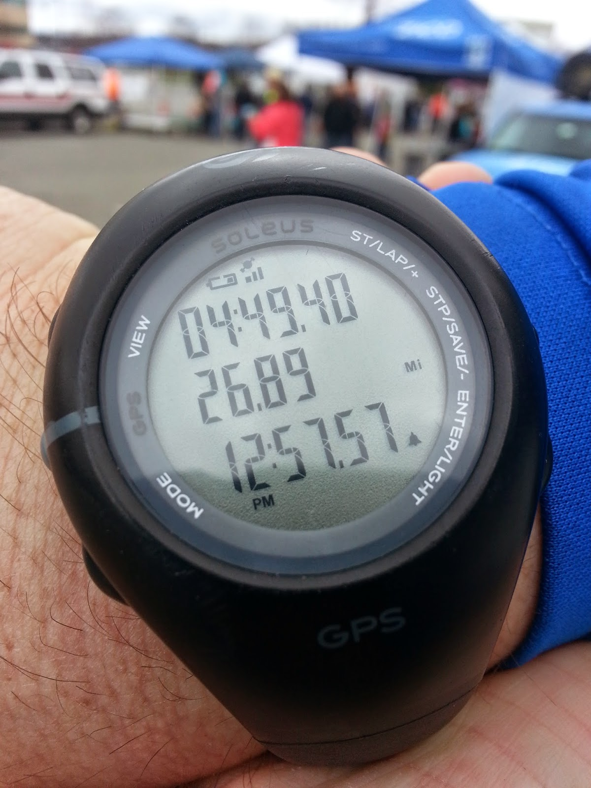 Watch Reading - Earth Rock Run 2014:  4 hours, 49 minutes 40 seconds