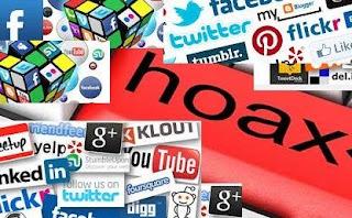 Hoaks Beredar di Media Sosial Tiap Hari 3.500 Hoaks Beredar di Media Sosial Tiap Hari