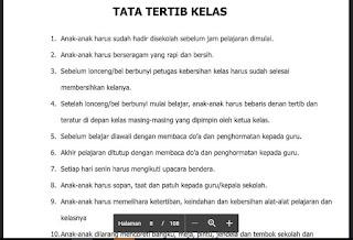 Tata Tertib Kelas,http://www.librarypendidikan.com/