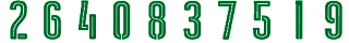 19 2Bdark 2Bgreen Kit Numbers Puma 2017