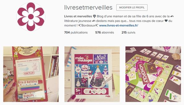 Livres et merveilles sur Instagram - Mois de décembre 2015