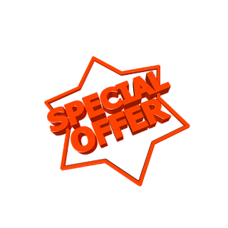 Attractive Special Offers Advertisements Badges