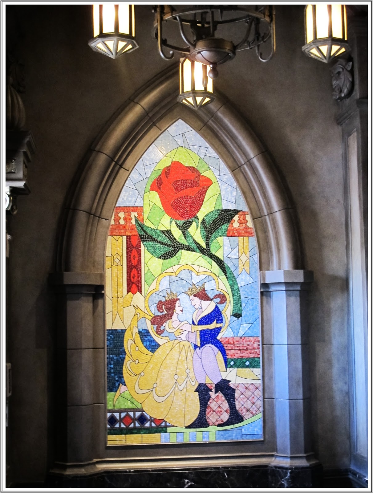Be Our Guest Restaurant Beast And Belle S Castle At
