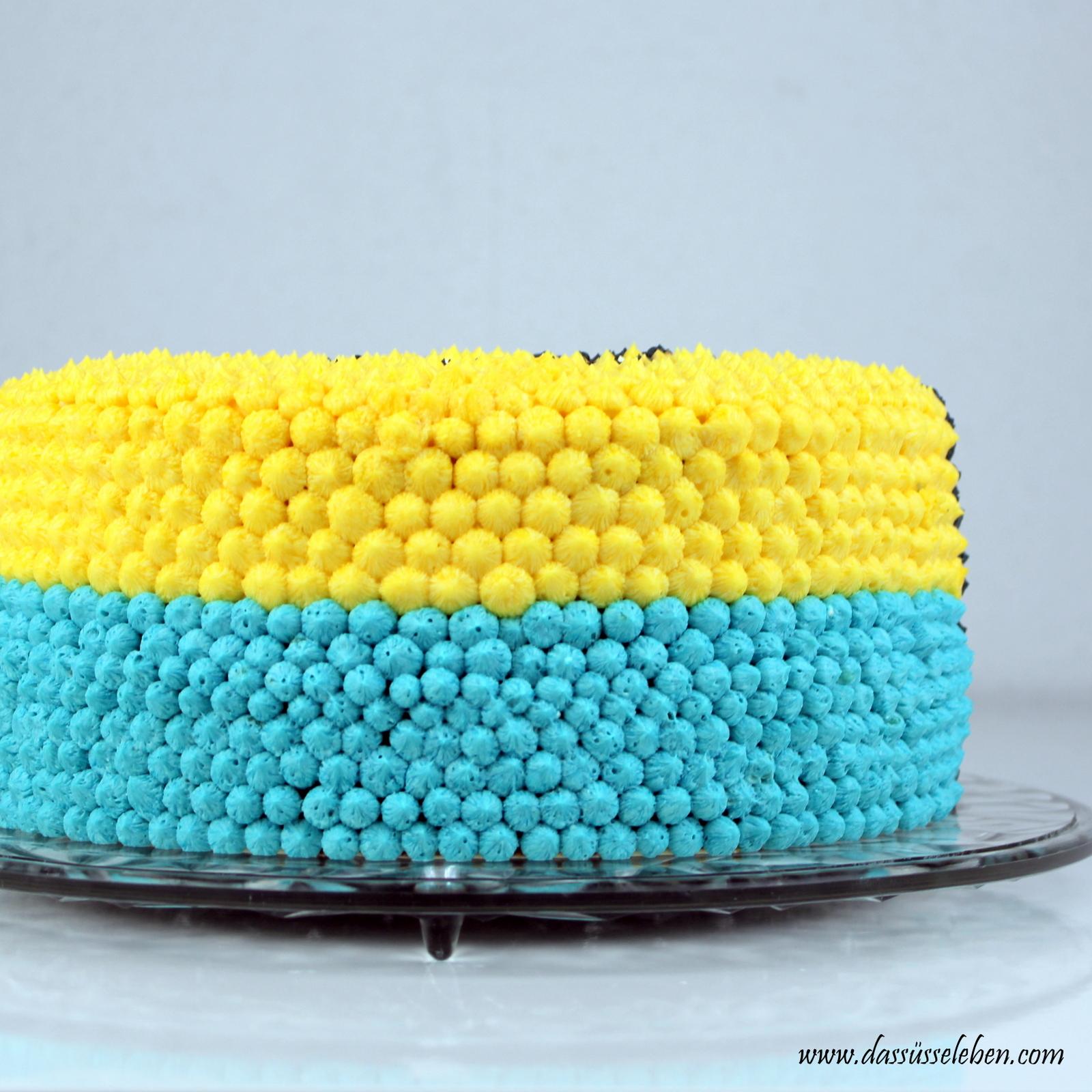 Rezept Minion Torte Aus Buttercreme Das Süße Leben