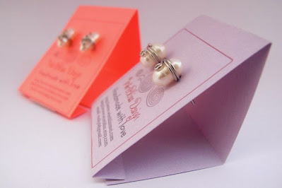 DIY Earring Cards by WireBliss