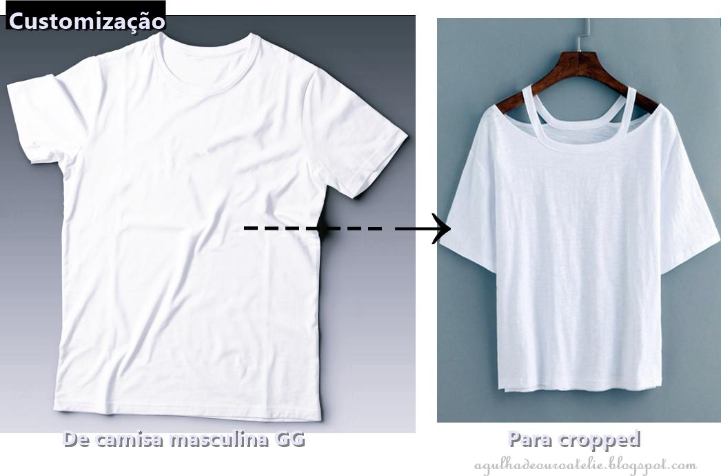 559ba6837 Customizar Camiseta Passo A Passo