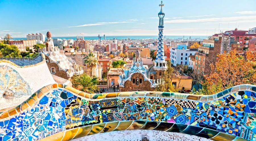 De turismo por Barcelona