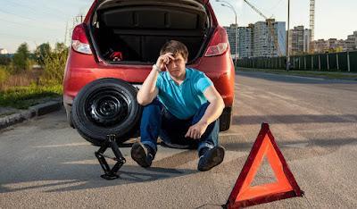 No Spare Tire