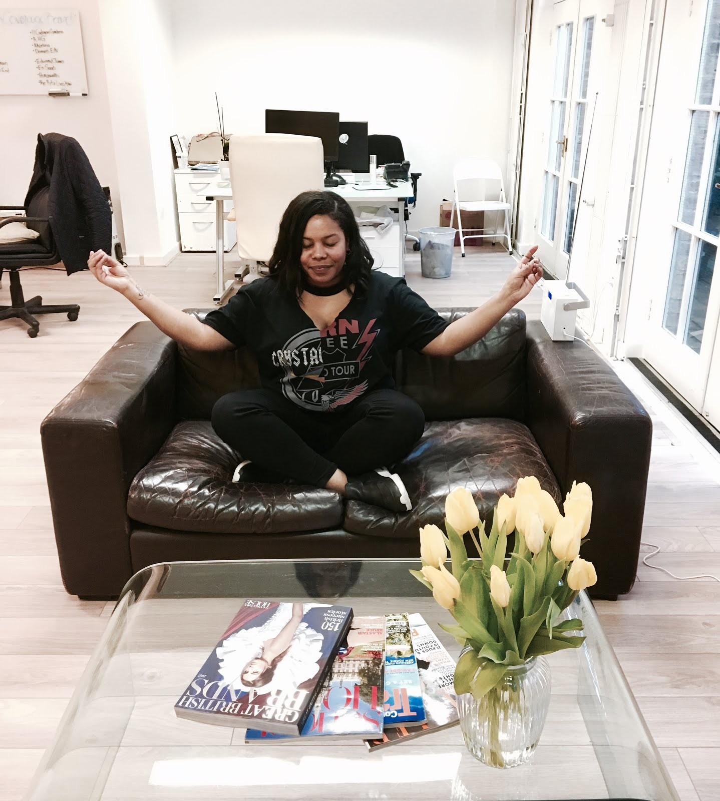 Can You Really Exercise In The Office? #Lbloggers #FitnessBloggers #FitFam #AD
