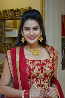 Jenny Honey in Stunning Dark Red Anarkali Dress at Splurge   Divalicious curtain raiser ~ Exclusive Celebrities Galleries 026.JPG