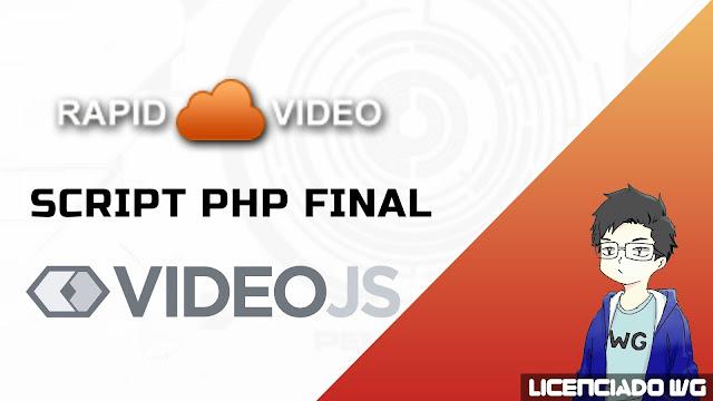 Rapidvideo videoJS