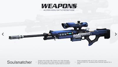 Kombinasi Senjata Terbaik Cyber Hunter dari Amatir Sampai Pro