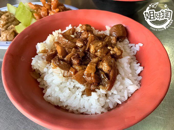 在地人才知道的美味,榮登心中第一名的肉燥飯-阿英虱目魚粥