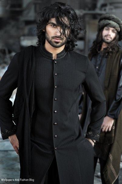 kurta mens indian sherwani pakistani hair designs male shalwar pajama casual boys groom middle wear eastern kameez dark suits asian