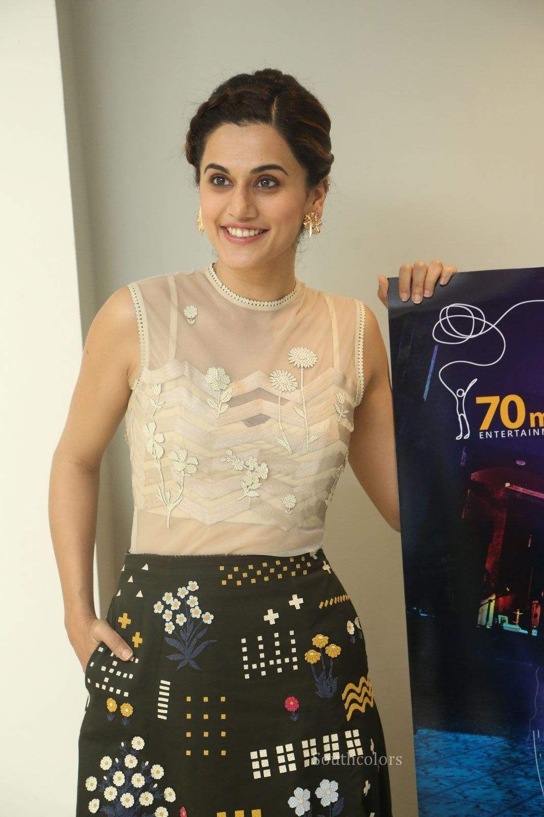 taapsee pannu stills at anando brahma trailer launch southcolors%2B%252810%2529