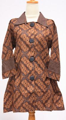 Model Baju Batik Wanita Terbaru Trend Baju Batik Lucu