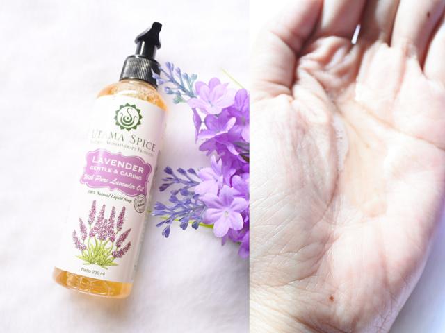 Utama Spice Lavender Liquid Soap