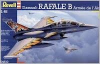 Maquette du Rafale B de Revell au 1/48.