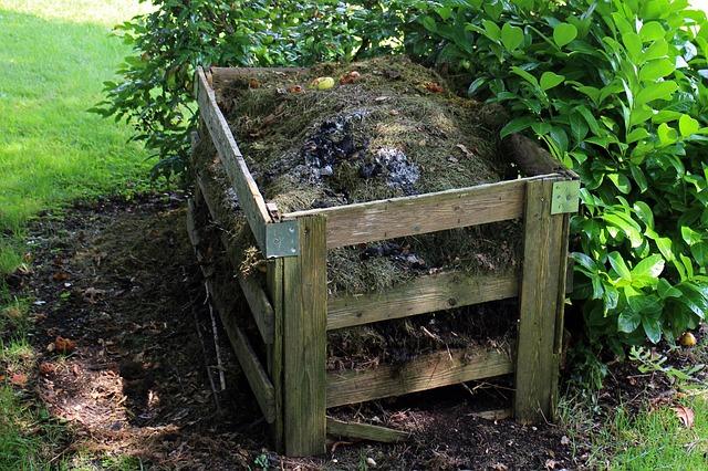 Compostero para abono orgánico