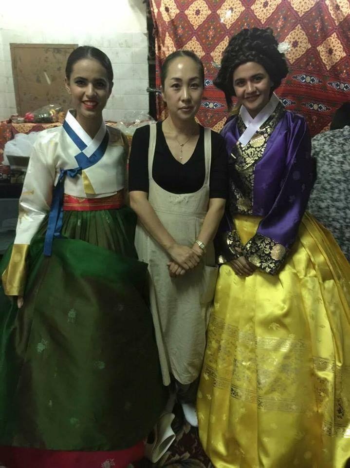 Korea Blog Hanbok Fashion Show In Egypt
