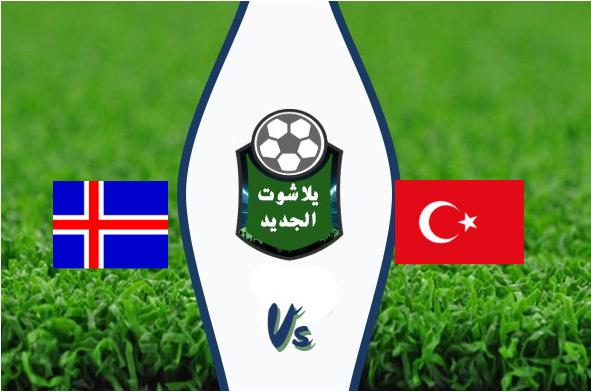 رسمياً .. منتخب تركيا يتأهل إلى يورو 2020 برغم التعادل السلبي امام آيسلندا