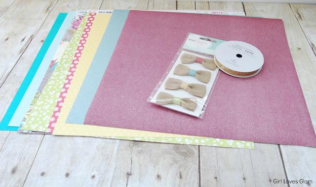 #scrapbook #paper #joann #fabric #diy