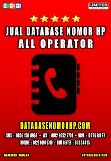 Jual Database Nomor HP