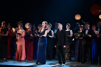 Skye Ingram and Toby Spence performing at the 2018 International Opera Awards (photo Chris Christodoulou)