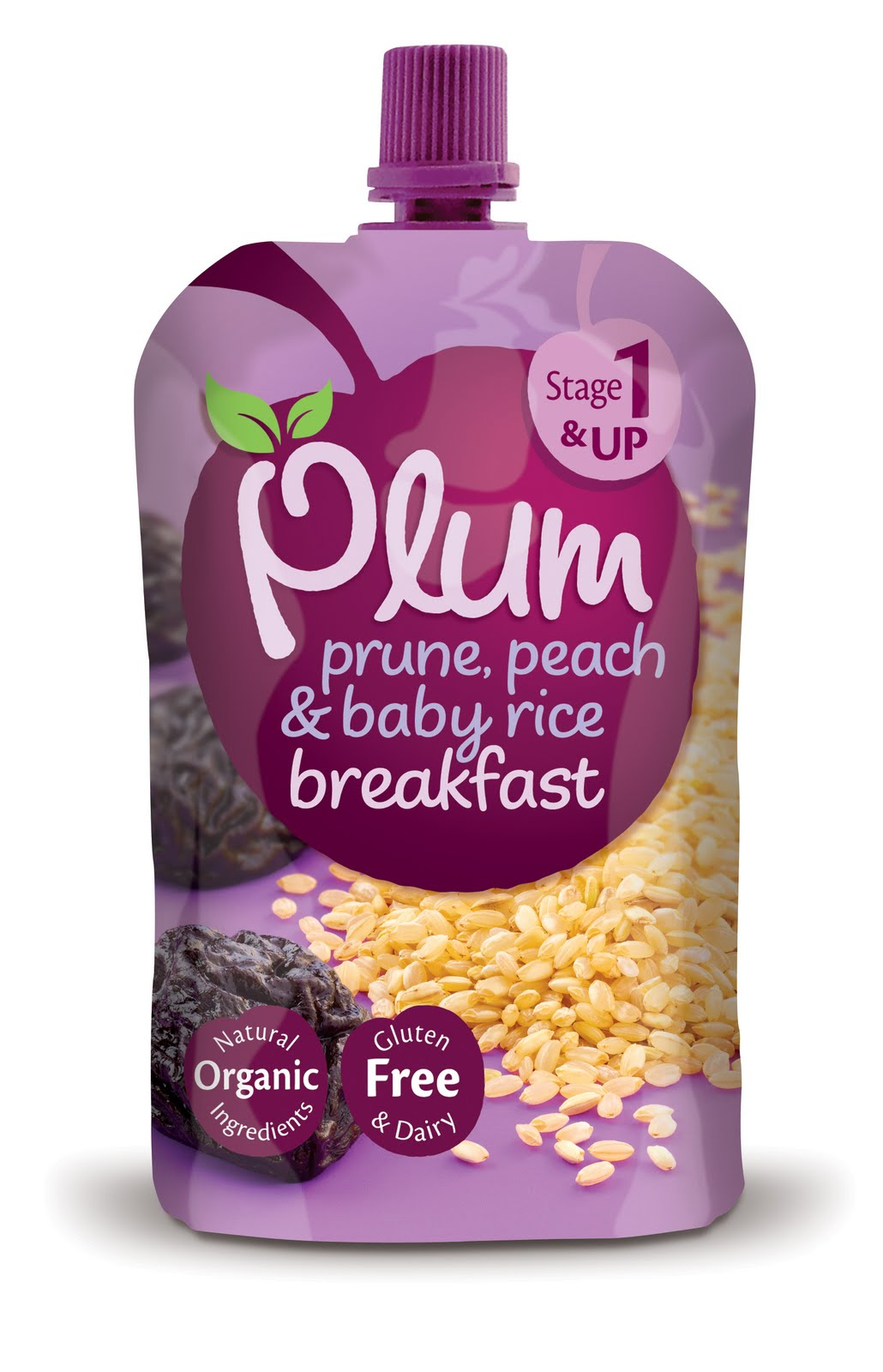 Mellow Mummy New Stage One Organic Baby Food Pouches
