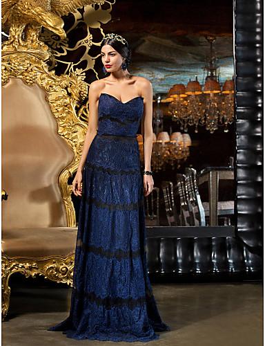 vestidos de 15 años azules oscuros