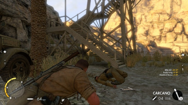 Download Sniper Elite 3 PC Games Gameplay