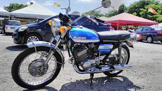 Forsale Suzuki Hustler T250 year 1970...