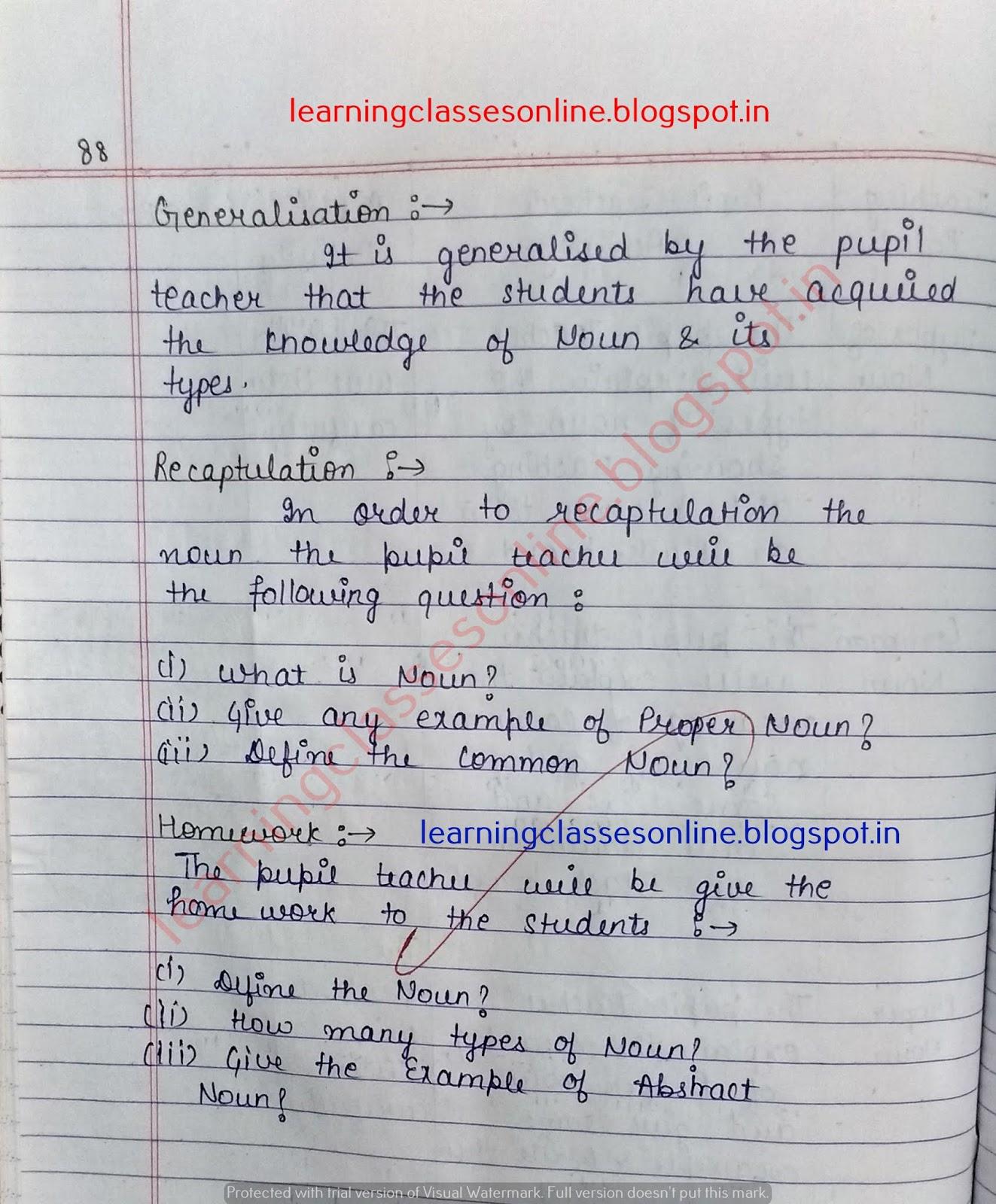 Free English Lesson Plans