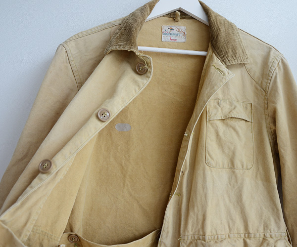 60sビンテージFOREMOST WHITE STAGハンティングジャケット